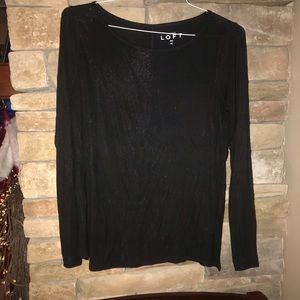 Loft long sleeve tshirt, size Medium